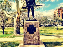Texas State Capitol: The Hiker (Texas State Library and Archives Commission) Tags: sculpture stat