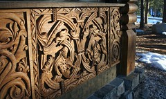 GERMAN CATHEDRAL CARVINGS (The VIKINGS are Coming!) Tags: wood stone architecture log cabin folkart laketahoe logcabin german chalet sierras woodenhouse highsierras viking blackforest stavechurch woodcarving vikingsholm teak zakopane hutte woodcarvings stavkirke dragoncarving portola metalroof vorwerk mountaincabin rusticcabin mountainhouse europeanarchitecture medievalcarvings polisharchitecture chipcarving tahoecabin alpinestyle russianarchitecture alpinearchitecture podhale dragonmotif mountainarchitecture carpathianalps mountainchalet parkitecture reclaimedstone reclaimedtimber bauernmalerei wyntoon scandinavianfolkart nordicarchitecture norwegianloghouses norwegianarchitecture logstone mountiancabin nordicstyle carvedteak russiancarving grizzlyranch norwegianfolkart vikinghouses vikingarchitecture logandstone zakopaneinthesierras zakopanestyle alpinehutte highsierraarchitecture norskcarving nordicviking norskfolkart alpinedecor norskarchitecture europeanwoodcarving blackforestcarvings alpenhutte