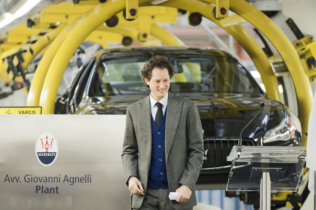 Opening ceremony of the Avvocato Giovanni Agnelli Plant