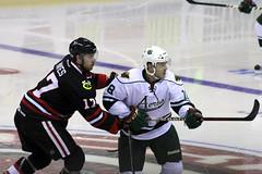 Jimmy Hayes, Jake Dowell (the_mel) Tags: hockey ahl rockford metrocentre aeros icehogs houstonaeros jimmyhayes rockfordicehogs jakedowell bmoharrisbankcenter