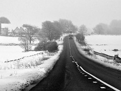 winterdriveby (plot19) Tags: road trees winter snow by lights drive nikon northwest derbyshire north scene lorry northern markings dales bemper plot19 blinkagain