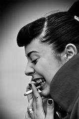 Laughing (CorH) Tags: street city portrait people urban blackandwhite bw white black monochrome blackwhite belgium belgie candid streetphotography antwerp antwerpen straatfotografie explored corh