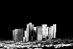New York innondé (BenoitGEETS-Photography) Tags: newyork 1100d gimp steapple agrafes bn architecture construction geets benoitgeets misterblue