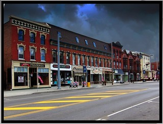 Clifton Springs Ny ~ Main Street ~  Small Town