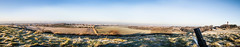 panoramic view, Cleadon (Kevin McElwee Photography) Tags: morning blue sky grass sunrise newcastle view panoramic hills cleadon