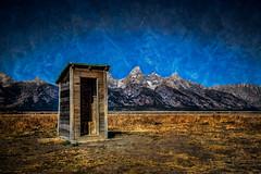 Ultimate Toilet? (stewartbaird) Tags: usa nationalpark toilet wyoming grandteton 2012 sxbaird stewartbaird