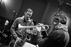 Scottish National Jazz Orchestra with Paolo Fresu - Fri 22 February 2013 -0157 (The Queen's Hall) Tags: music scotland concert edinburgh jazz milesdavis queenshall paolofresu scottishnationaljazzorchestra clerkstreet
