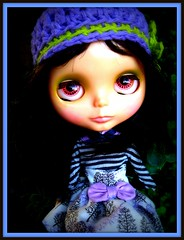 Eloise is Loving Lavender and this new little outfit!  AKAW 8/52