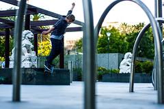 Dexter - BS Smith (SkettyBoz) Tags: city train back skateboarding skating australia melbourne smith fresh trainstation ledge skate cbd aus hesh