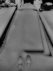 Selfportrait ABESSE ADESSE - Snow Blanket, Left Shoeprint, Right Shoeprint, Grave without Gravestone ~ SchneeDecke, linker Schuhabdruck, rechter Schuhabdruck, Grab ohne Grabstein, besitzerlos - Hernalser Friedhof (hedbavny) Tags: vienna winter bw friedhof cemeteries selfportrait snow water cemetery grave graveyard print spur austria autoportrait personal cementerio tomb tombstone verschneit autoretrato decke gravestone present cemitrio aquarius absent grab fest grabstein selbstportrait footprint meaning konzept schneebedeckt cimetire shoeprint s45 cementerios schneefall coneptual camposanto cemitrios schnellbahn abwesend cimiteri persnlich abdruck konzeptkunst cimetires schneien 1170 friedhoefe schuhabdruck hernalserfriedhof bedeutung cimiteris schneedecke aggregatzustand 17bezirk fusabdruck anwesend alszeile friedhofhernals 1170wien hedbavny entlangderbahn ingridhedbavny alongsidetracks grabohnegrabstein gravesthatbearapersonalmeaningforme