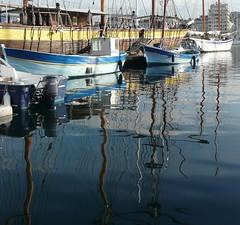 Reflets#1 (polbar) Tags: france reflection boats marseille pom bateaux reflexion vieuxport impressedbeauty