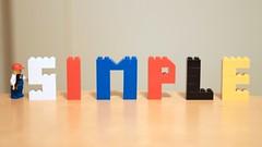 FlickrFriday: Keep it Simple. (elPadawan) Tags: 50mm lego games keepitsimple flickrfriday