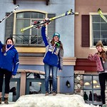 Stephanie Gartner wins Sun Peaks Van Houtte Slalom PHOTO CREDIT: Gregor Druzina