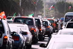 #2013 (2) (Fajer Alajmi) Tags: show red white black green cars plane war gulf 26 flag police 25 planes kuwait february feb q8  kwt      kuw              alfrsan  mseera