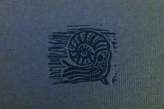 Ammonite close up (Inkysloth) Tags: printmaking linocut ammonite prehistoric reliefprint invertebrate linoprint