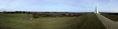 Campbell Park panorama (captain_flynn23) Tags: nature water miltonkeynes pyramid buckinghamshire hill bucks mk pathway campbellpark theparkstrust pyramidoflight