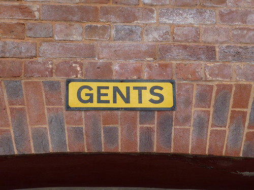 GENTS sign, Exeter, Devon