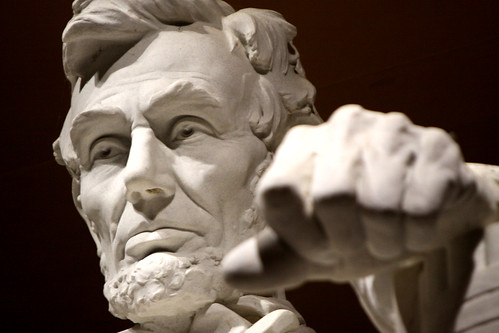 From flickr.com: Abraham Lincoln memorial {MID-154818}