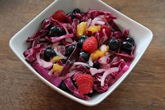 Red cabbage and Berry Salad by Teresa Marrone from Modern Maple