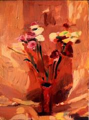 Carnations 2 (tadeusz deręgowski) Tags: flowers stilllife flower art fruit painting sketch arte kunst expressionism impressionism pintura carnations fauvism pochade scottishart