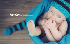Swietliste.pl artystyczna fotografia dziecieca Bydgoszcz sesje dzieciece niebieskie krasnale