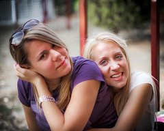 Danijela & Jelena (ntrifunovic) Tags: girls friends two portrait smile face smiling female happy cheerful jelena avala danijela vikendica rostilj