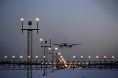 Ready for landing (Inger Bjørndal Foss) Tags: norway osl gardermoen