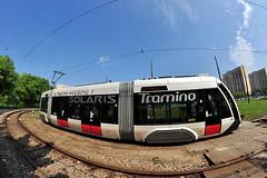 Solaris Tramino S100 #451 MPK Pozna (3x105Na) Tags: solaris tramino s100 451 mpk pozna mpkpozna tramwaj polska polen poland tram strassenbahn