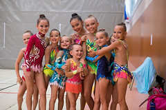 I will miss you girls! (LuckyAmori) Tags: happy gymnastics gala leotard rhythmic ritmica