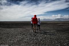 A long walk (michael.mu) Tags: leica m240 35mm leicasummicron35mmf20asph leicasummicronm1235mmasph colorefexpro iceland slheimasandur landscape empty space