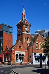 Clock Tower / Richmond (Images George Rex) Tags: london richmond uk firestation tw91dz england photobygeorgerex unitedkingdom britain imagesgeorgerex neogothic redbrick gothicrevival