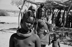 Himba (silviasalvi) Tags: streetportrait streetphotography ritratto portrait nikond7000 africa namibia himba african people bw