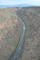 DSC_8964 (My many travels) Tags: rio grande gorge bridge new mexico water rocks river