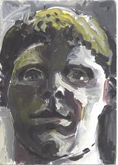 Kopf 05 (JENS01) Tags: acrylgemälde malerei sketches berlin friedrichshain art kunst skizze painting dessin