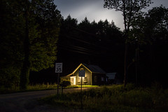 At the bottom of the Green Mountains (Alec C Miller) Tags: night glow landscape vermont wilderness color digital fine art photography mountain moon
