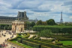 Paris (travelquo) Tags: travel photos eiffel tower france louvre museum paris place du carrousel