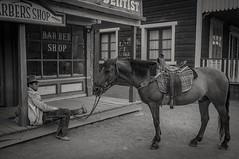 Almeria Far West 1 (Kalinus) Tags: fujifilm x100 cowboy horse farwest almeria western colour