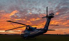 G-BOYF Sikorsky S76, Scone (wwshack) Tags: egpt perthairport scone sconeairport scotland sikorsky s76 helicopter airharrods gboyf