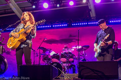 Bonnie Raitt and Richard Thompson (John Diven) Tags: richard thompson bonnie raitt pier 6 pavilion baltimore