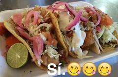 Taqueria Pico de Gallo!  So  (LiZb*) Tags: food tacos pescado southtucson fishtaco asada pollo taqueriapicodegallo yum sobomb