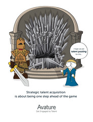 Talent Pooling - Game of Thrones ad (saposaraso) Tags: avature talent pooling saposaraso illustration ad hr magazine