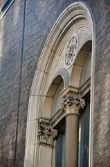 NYC_Mad_921_008 (TNoble2008) Tags: 1916 arch archbiforate architectjamesgamblerogers column materialbrick materialterracotta medallion ornament ornamentrosette pilaster stylecomposite stylecompositevariant stylecorinthian tympanum typeurban windowbiforate