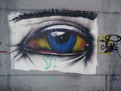 Augenblick (MKP-0508) Tags: lostplace industriebrache industrie brache auge eye oeuil graffiti