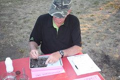 Roger dissecting a Barred Owl Pellet (Terry Carr) Tags: starrynight