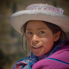 Peruvian Girl (szeke) Tags: 2007 child girl hat people peru portrait travel