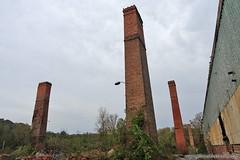 Abandoned chimneys. Full article here: http://www.placesthatwere.com/2016/08/beautiful-abandonment-nature-reclaims.html #abandoned #abandonedplaces #decay #abandonedbuilding #derelict #Iowa #industrialdecay #urbex #urbanexploration #lehigh #brick #chimney (placesthatwere) Tags: abandoned urbanexploration ghosttowns urbex rurex abandonedplaces forgottenplaces urbandecay decay beautifuldecay
