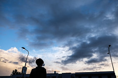 Giovane Fumatrice ( Bastiart  Paolo B-astia) Tags: fumo smoke cloud street