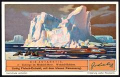 Liebig Tradecard S1328 - Iceberg in the Weddell Sea (cigcardpix) Tags: tradecards advertising ephemera vintage liebig