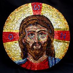 Jesus Icon (mazztroop) Tags: christ jesus icon orthodox symbol divine smalti 24k gold glass mosaic