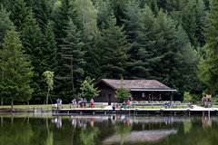 Alto Adige (Italy) - Siusi: laghetto di Fi  Vlser Weiher (Laghetto inferiore) (Massimo Battesini) Tags: nationalgeographic worldtrekker fujifilmxt1 fuji xt1 fujixt1 fujifilm finepix fujinon fujinonxf18135 fuji18135 fujifilmfujinonxf18135mmf3556rlmoiswr lago lake lac see acqua water eau agua dolomite dolomiti dolomites dolomitas alpen alpes fieallosciliar trentinoaltoadige italia it alpi alps italy italie italien europa europe siusi laghettodifi vlserweiher laghettoinferiore